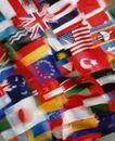 金融商业0294,金融商业,商业金融,国际国旗  旗子 彩色