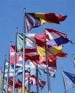 金融商业0314,金融商业,商业金融,国旗 天空 飘动