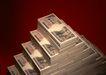 金融市场0059,金融市场,商业金融,三角形 整齐叠放 纸币