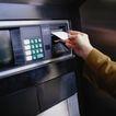金融市场0094,金融市场,商业金融,取款机 信用卡 纸币