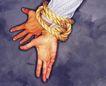 商业合作0048,商业合作,商业金融,绳子 交叉 绑住