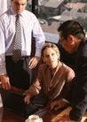 商业交流0285,商业交流,商业金融,男士侧脸 西方女性 单手撑腰
