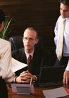 商业交流0288,商业交流,商业金融,工作汇报 全神贯注 十指交叉