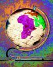 商业视觉0050,商业视觉,商业金融,倾斜 地球仪 角度