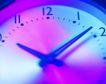 商业视觉0066,商业视觉,商业金融,蓝色 时钟 转动