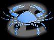 3D制作0003,3D制作,科技,螃蟹 横行 钳子 天蝎座 星座 占卜 运势 月份