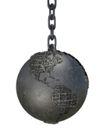 地球集锦0053,地球集锦,科技,铁球 铁链 吊起来