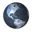地球集锦0102,地球集锦,科技,地球仪 轴心 转动