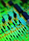 电子电板0115,电子电板,科技,微电子 晶片 电阻 检测
