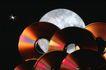 光碟制造0042,光碟制造,科技,碟 月亮 星光