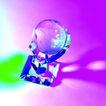 世界指南0020,世界指南,科技,蓝紫 透明 地球
