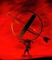 世界指南0031,世界指南,科技,箭头 指示 高举