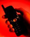 网际网路0003,网际网路,科技,手拿手机 黑色 通迅 红色 警报