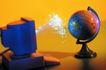 网络科技0083,网络科技,科技,地球 形状 电脑