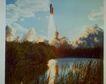 星球探索0227,星球探索,科技,火箭 云朵 水草