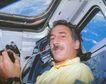 星球探索0231,星球探索,科技,男人 太空仓 悠闲 正面