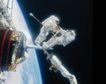星球探索0253,星球探索,科技,太空 卫星 出舱