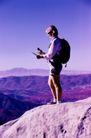 登山运动0127,登山运动,运动,对照 背包 山区 高原 黄土
