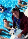休闲运动0057,休闲运动,运动,游泳 预备 裁判