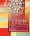 抽象金融0025,抽象金融,金融,货币 美元 房屋