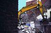 工业生产0045,工业生产,工业,挖土机 拆迁 旧房子