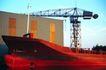 工业生产0046,工业生产,工业,厂房 货船 水