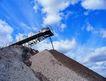 工业生产0061,工业生产,工业,沙砾 筛选 细粒