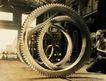 工业生产0062,工业生产,工业,轮环 大型 工件