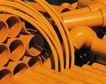 工业生产0074,工业生产,工业,橘黄 钢管 粗细