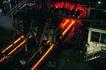 工业生产0076,工业生产,工业,街边 昏暗 楼梯