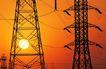 工业生产0079,工业生产,工业,夕阳 钢架 日暮
