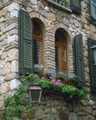 外窗绿化0056,外窗绿化,园林,石头 构建 房子
