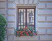 外窗绿化0072,外窗绿化,园林,大块 墙砖 砌成