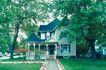 园林别墅0188,园林别墅,园林,别墅  古树参天 草坪