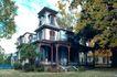 园林别墅0189,园林别墅,园林,欧式城堡  蓝天 草地