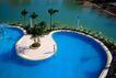 园林别墅0197,园林别墅,园林,游泳池 惬意 棕树