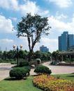园林绿化0127,园林绿化,园林,垃极桶 环境意识 环保 中午