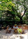 园林绿化0139,园林绿化,园林,木制桌椅