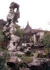 园林绿化0170,园林绿化,园林,假山  凉亭  屋角