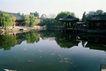 名院0120,名院,园林,亭子 浮萍 湖