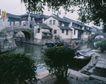 名院0164,名院,园林,老镇  水乡三元桥 江南小景