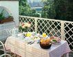 餐厅0107,餐厅,装饰,绿色园林 方格栏 铁架椅