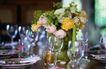 餐厅0112,餐厅,装饰,玻璃杯 花瓶 餐桌