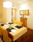 餐厅0124,餐厅,装饰,圆筒灯 木地板 桌布 椅子 餐巾纸