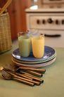 餐厅0150,餐厅,装饰,盘子   茶杯  叉子
