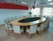 会议室0015,会议室,装饰,圆环桌 圆桌会议 平等 明亮 白色调