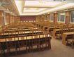 会议室0016,会议室,装饰,大会堂 后视 听众席 登子 放桌下