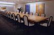 会议室0027,会议室,装饰,长桌 椅子 室内盆栽