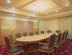 会议室0047,会议室,装饰,挂灯 地毯 椭圆桌