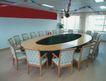 会议室0049,会议室,装饰,闪光球 彩丝带 窗帘